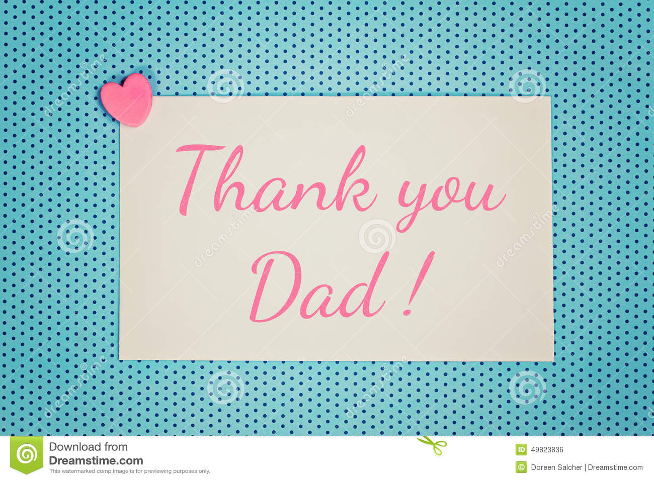 Blue greeting card thank you dad stock illustration illustration download blue greeting card thank you dad stock illustration illustration of father love m4hsunfo