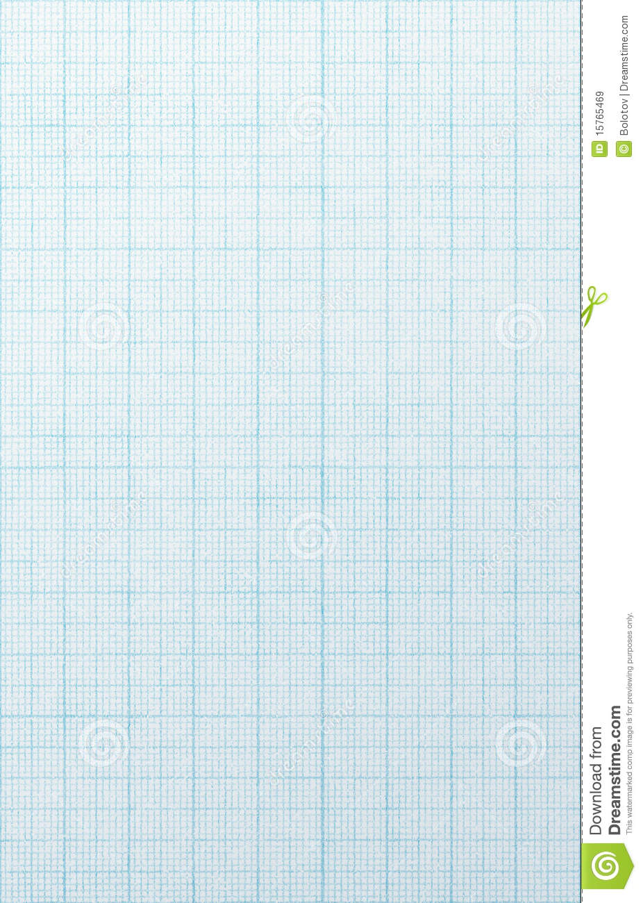 blue grid scale paper  stock image  image of aged  retro