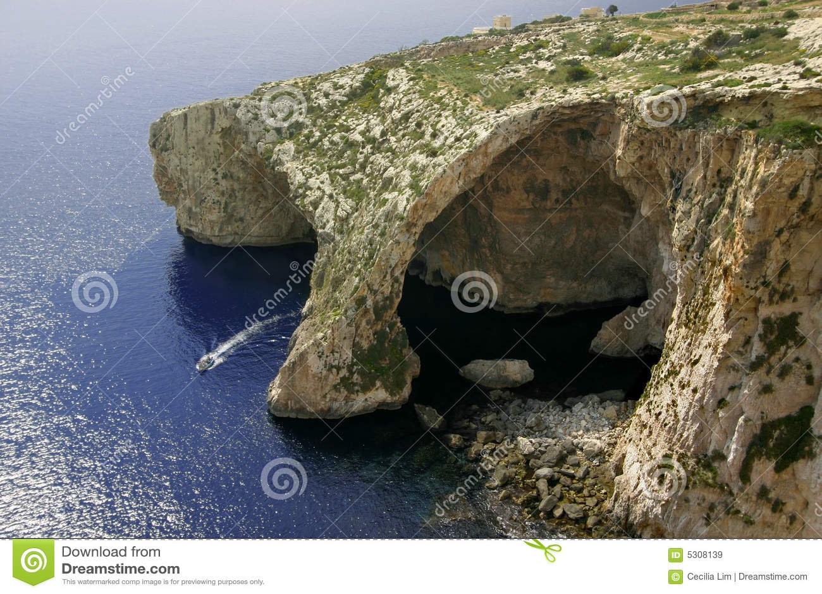 Blue Grotto, Gozo Island, Malta