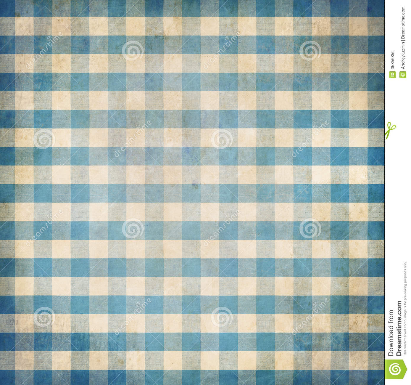 Astonishing Blue Grunge Checked Gingham Picnic Tablecloth Background Download Free Architecture Designs Terchretrmadebymaigaardcom