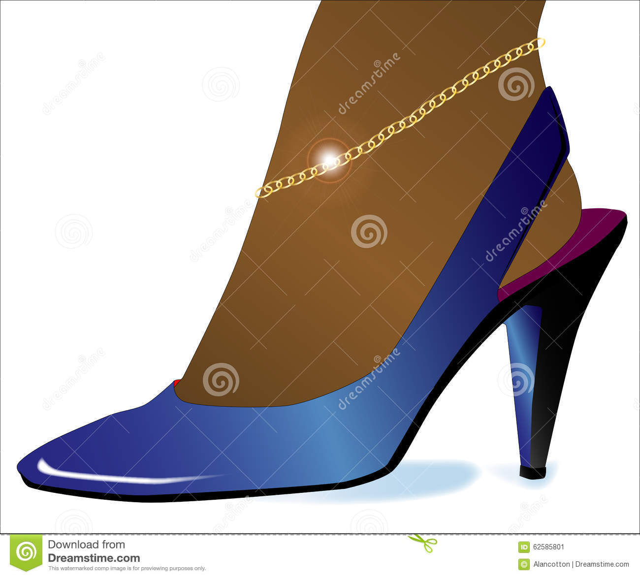 2b53f85fee Gold High Heel Shoe Stock Illustrations – 146 Gold High Heel Shoe Stock  Illustrations, Vectors & Clipart - Dreamstime