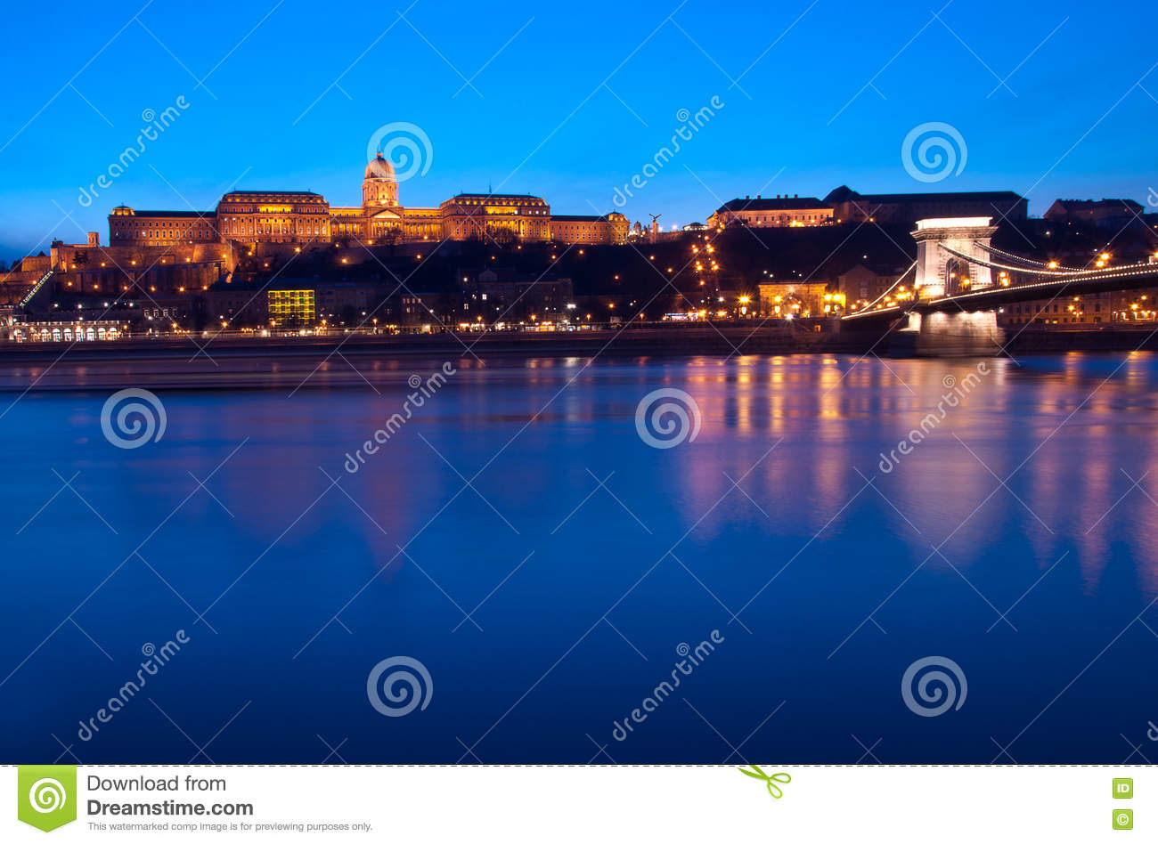 Blue Hour on the Blue Danube