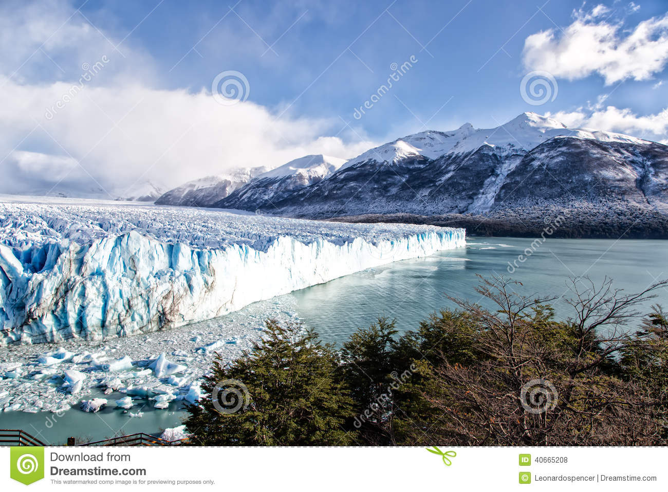 Patagonia South America >> Blue Ice In Perito Moreno Glacier, Argentino Lake ...