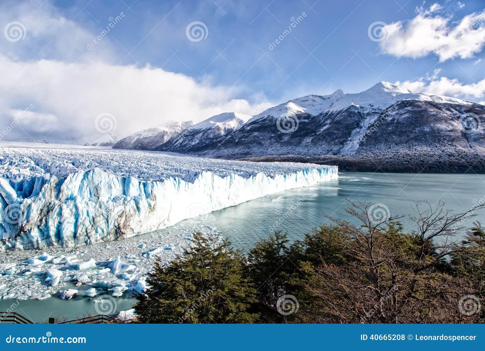Patagonia South America >> Blue Ice In Perito Moreno Glacier, Argentino Lake, Patagonia, Argentina Stock Photo - Image ...