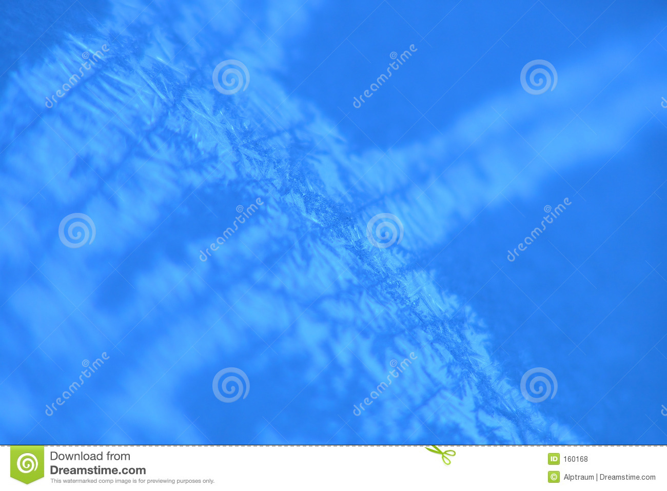 blue icy background