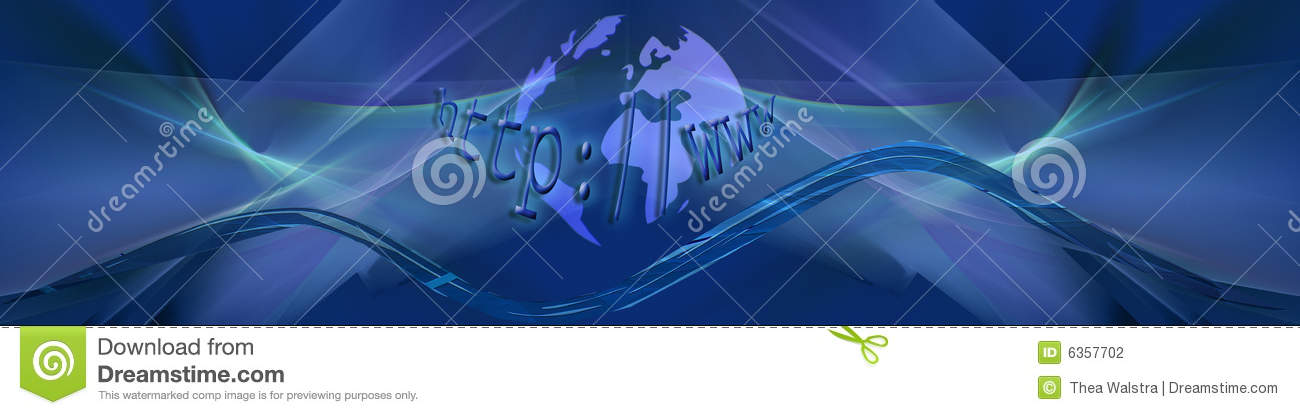 Blue internet waves with planet stock photography image for Internet plante