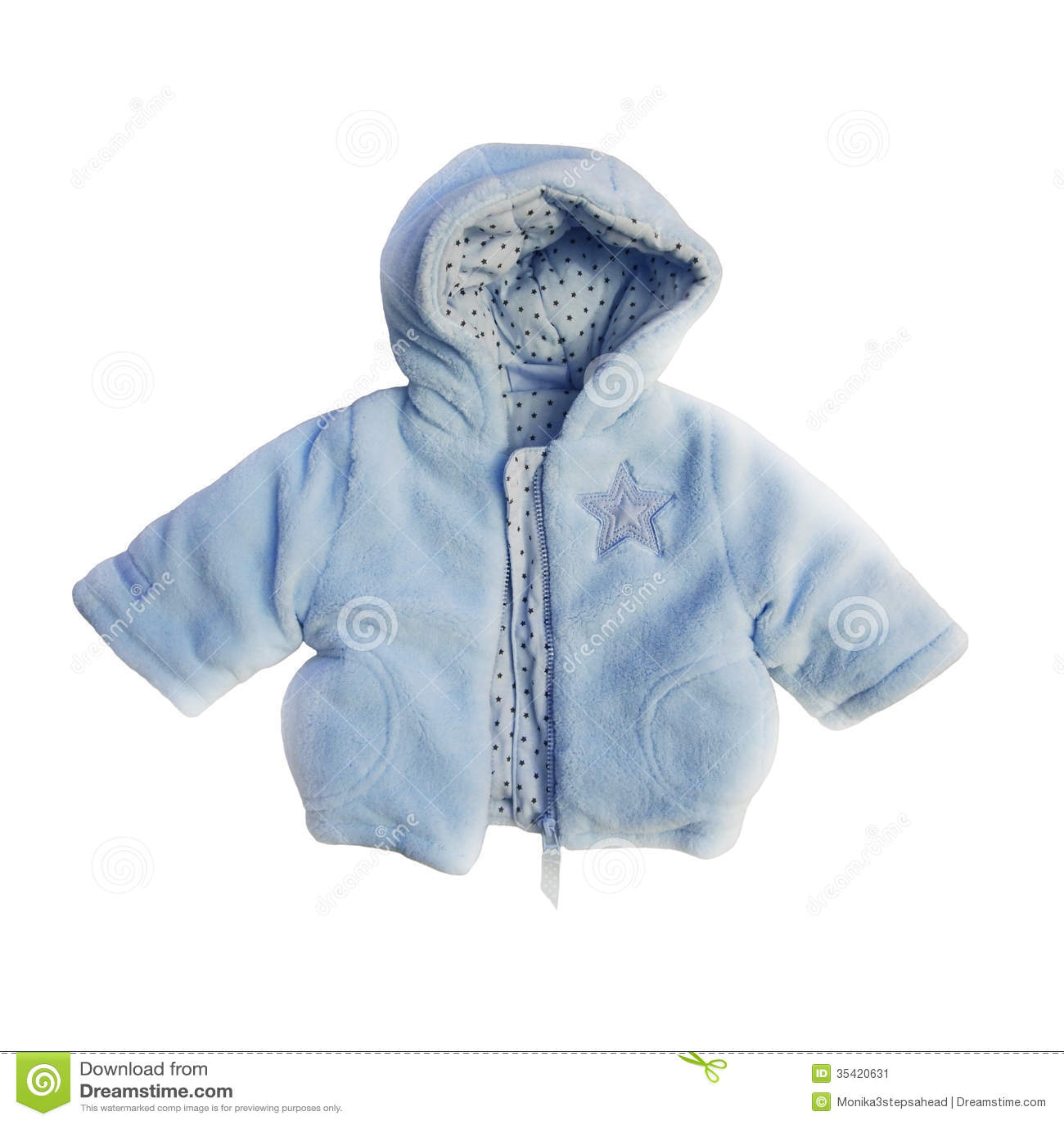Blue Jacket For Baby Boy Stock Image Image 35420631