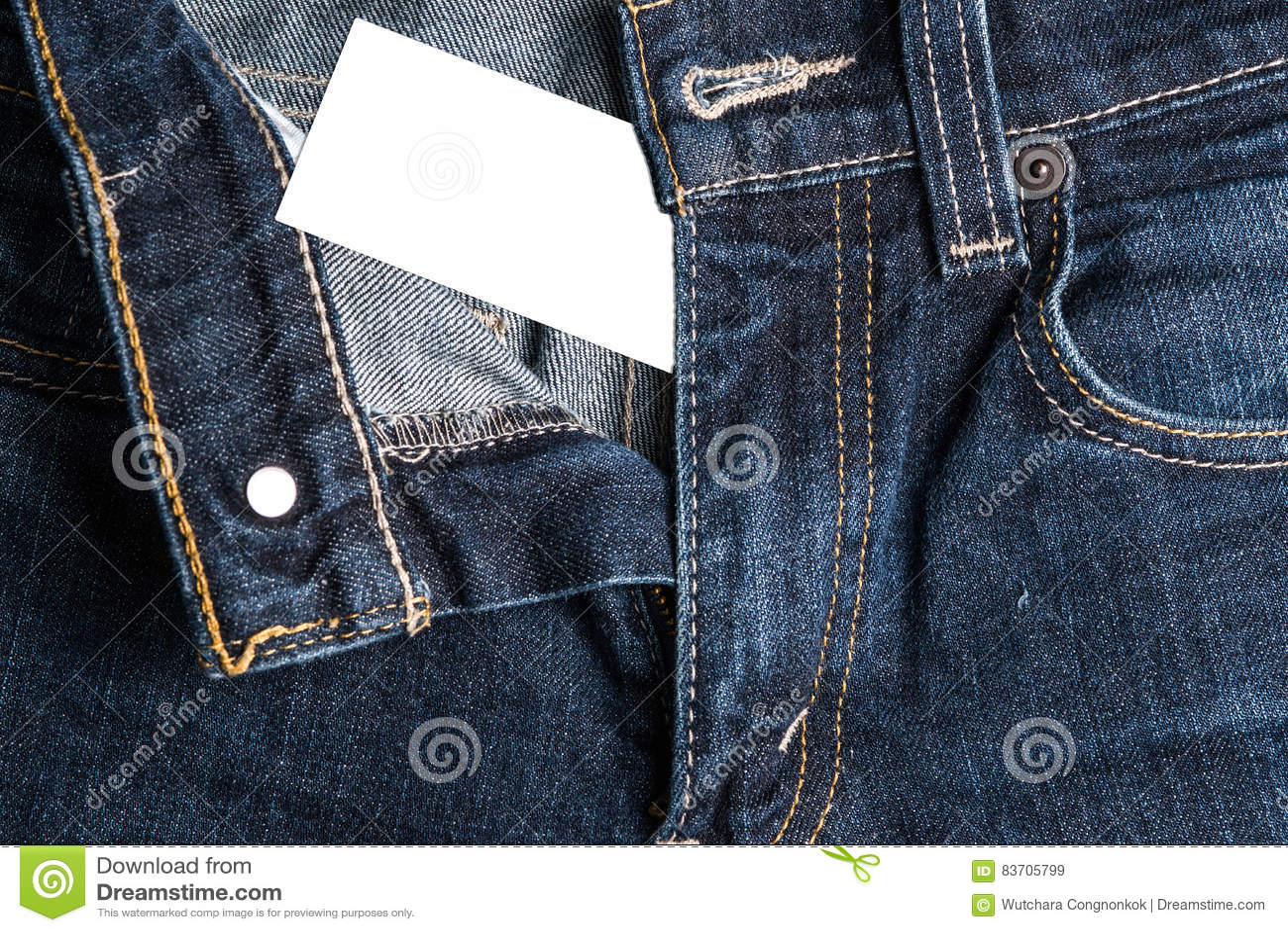 Blue Jean Background Texture Stock Photo