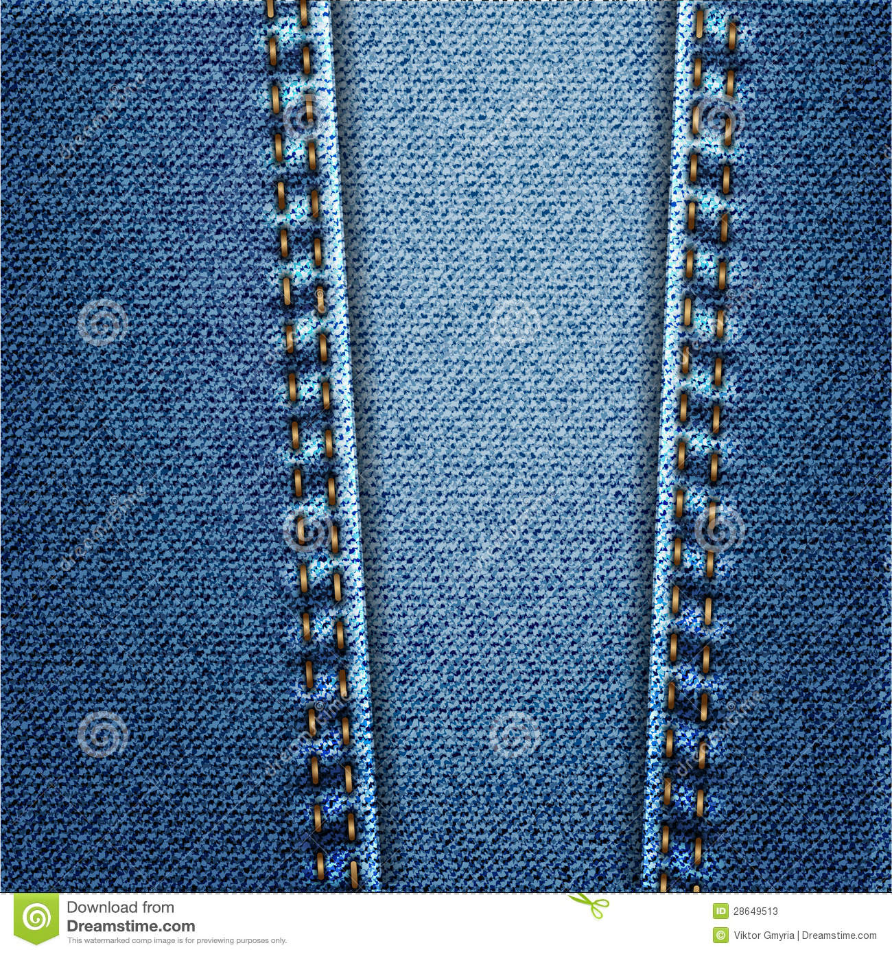 blue jeans denim fabric texture with stitch stock photos