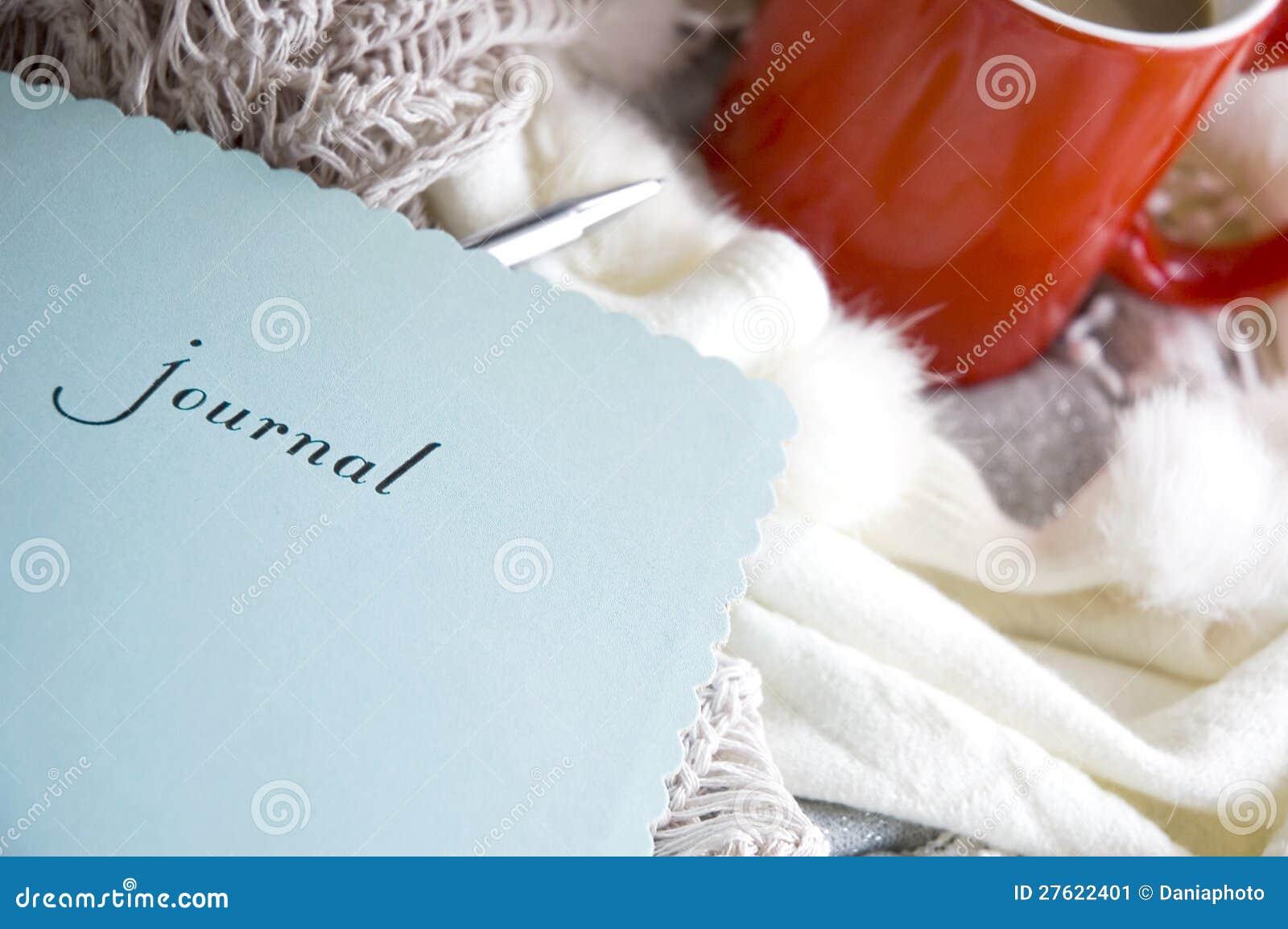 Blue journal book