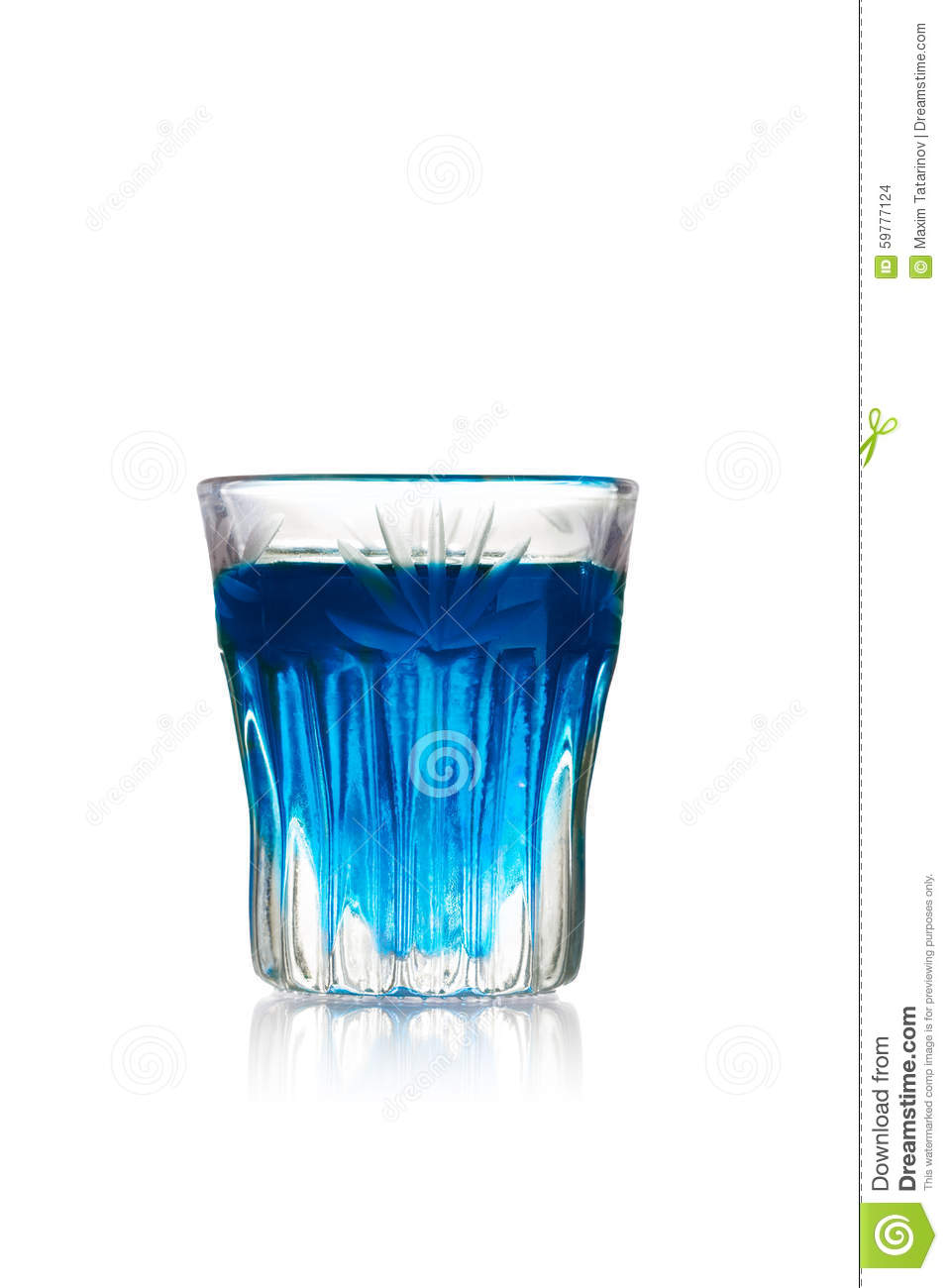 Download Blue kamikaze shot stock photo. Image of kamikaze, alcohol - 59777124