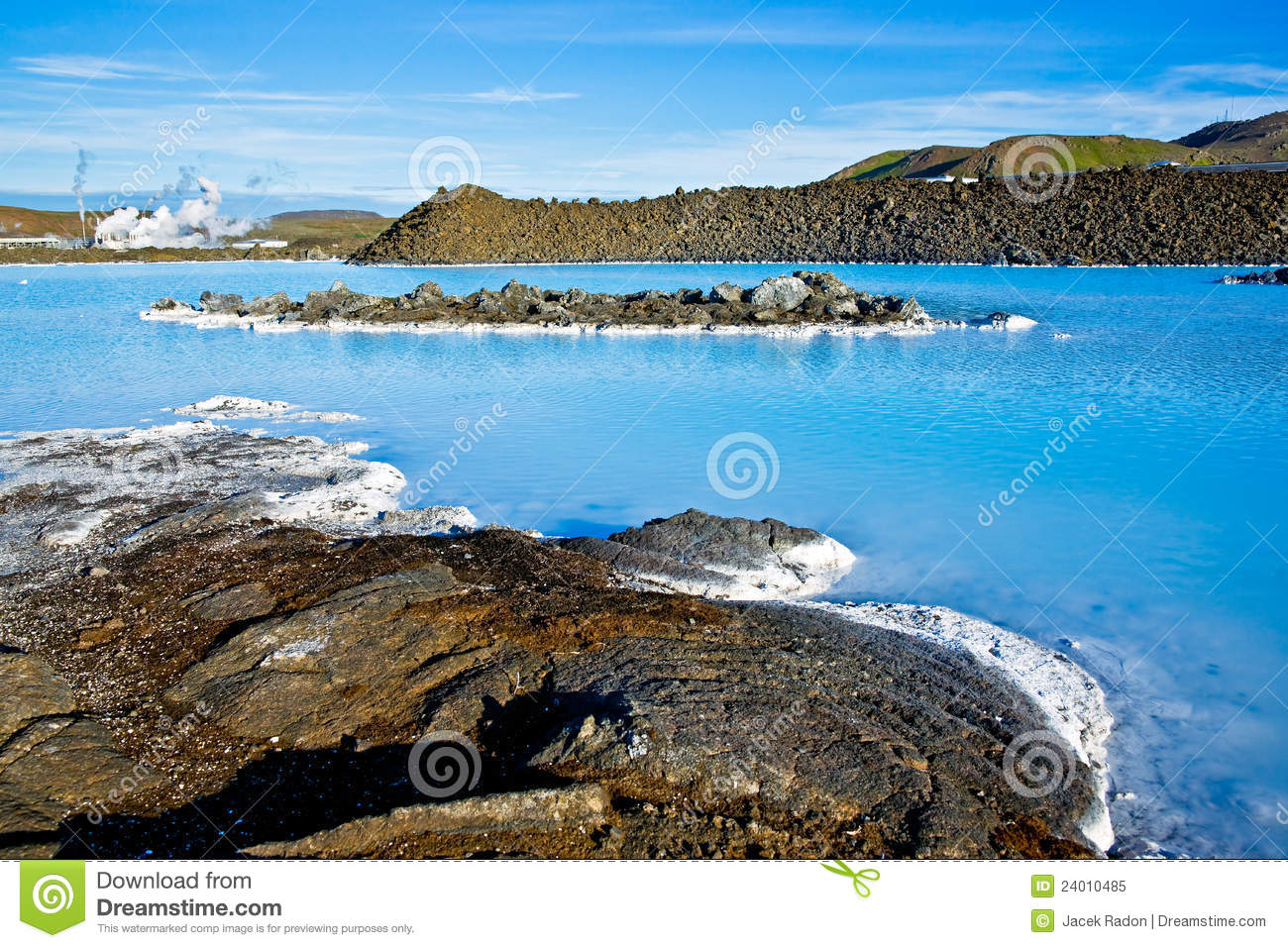 iceland blue lagoon stock photography. Black Bedroom Furniture Sets. Home Design Ideas