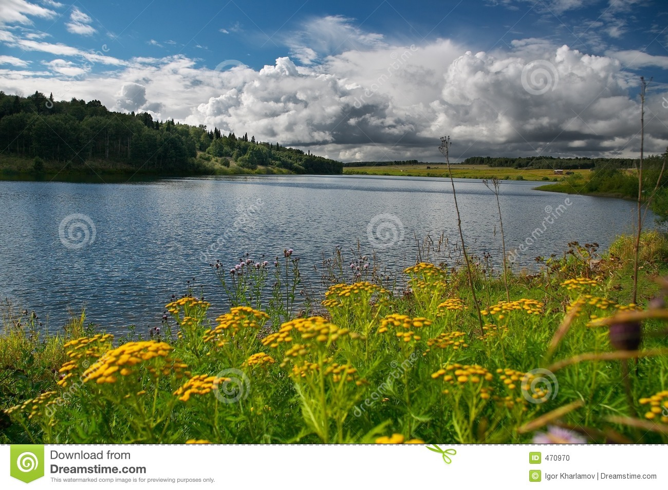 Download Blue lake stock photo. Image of colors, composition, nature - 470970