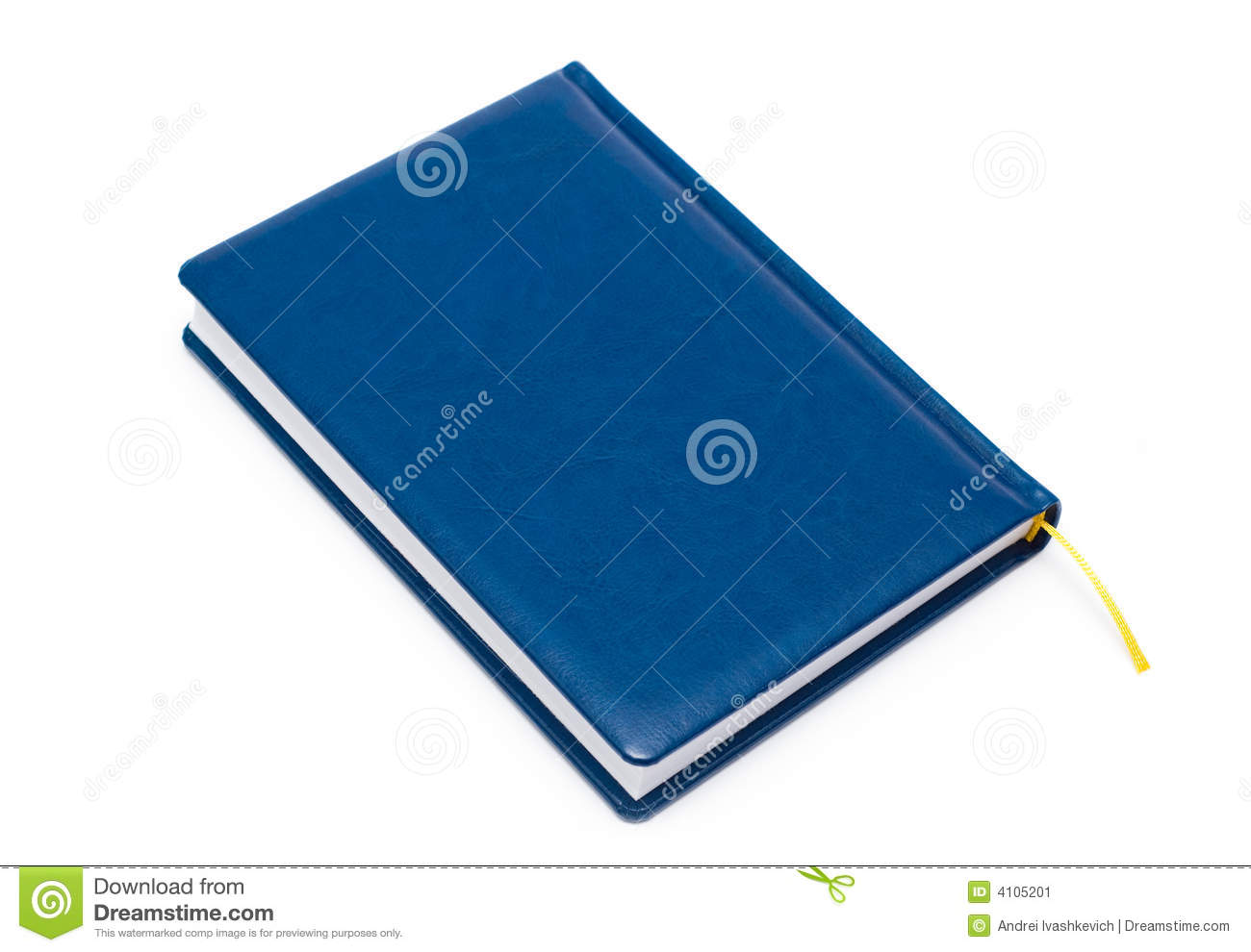 Blue Covered Book : Leather covered book stock photography cartoondealer