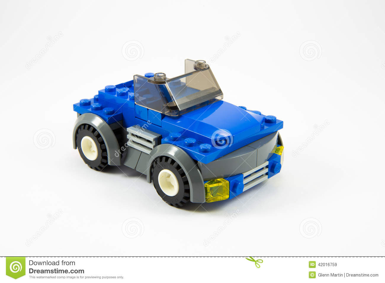Nice Download Blue Lego Car Editorial Stock Image. Image Of Lego, Seater    42016759
