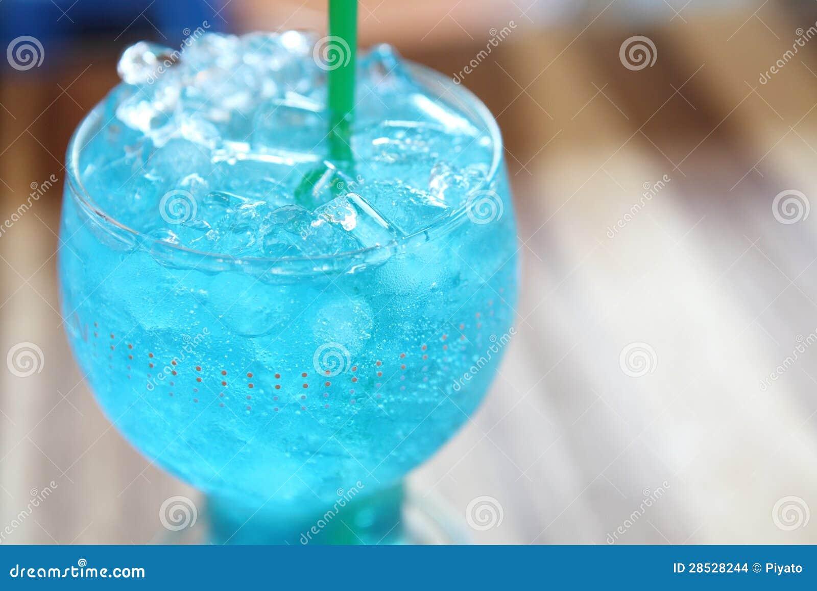 Blue Lemon Soda Stock Images - Image: 28528244