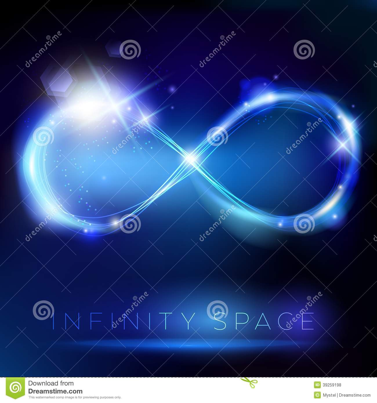 Royalty Free Stock Photos Blue Light Infinity Symbol Lights Effects Placeholder Image39259198 on Gold Circle Frame