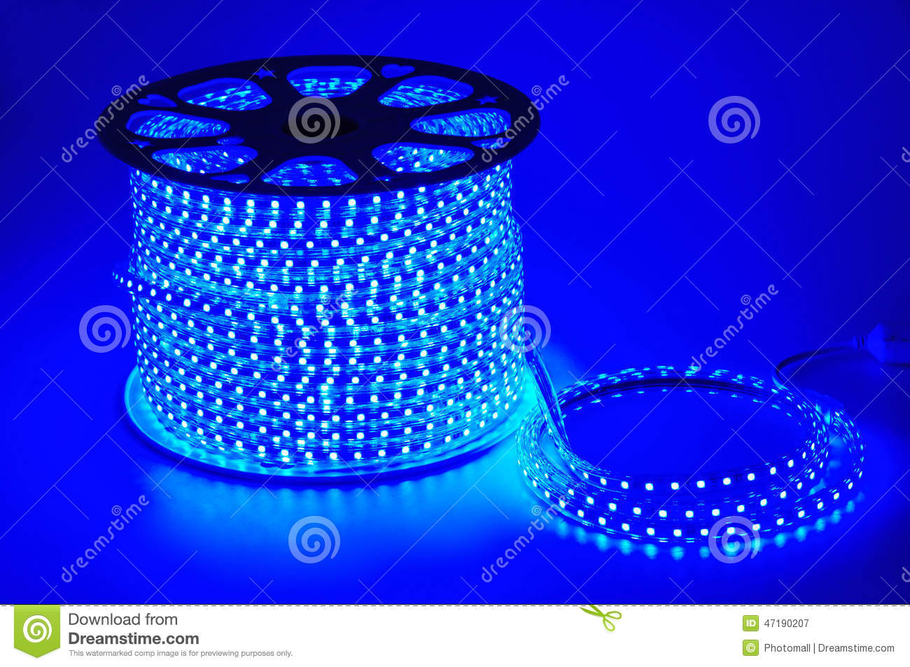 Blue Light Led Belt Led Strip Home Decoration Floral Decoration House Decoration Wall Decoration