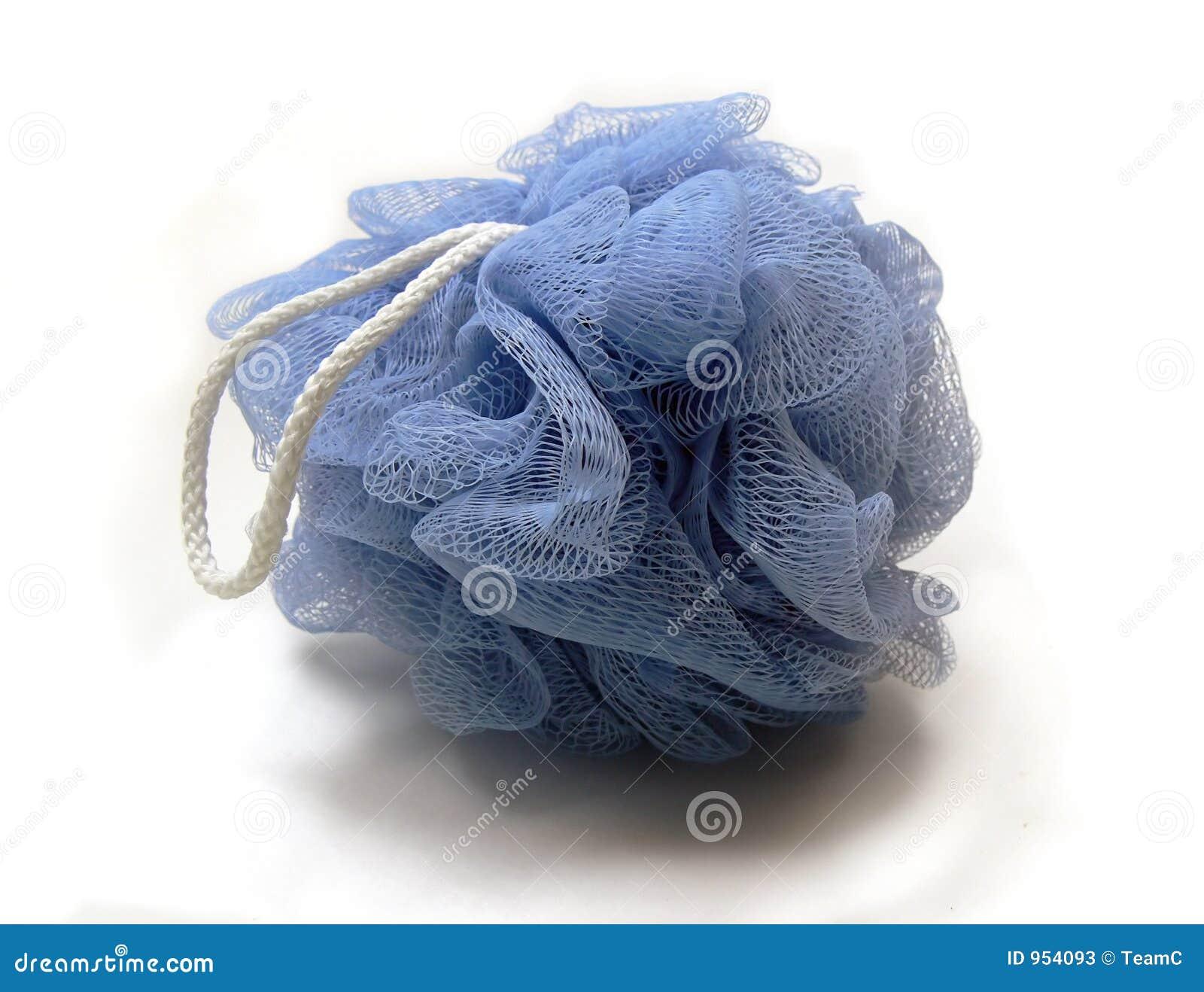 blue loofah stock photos image 954093