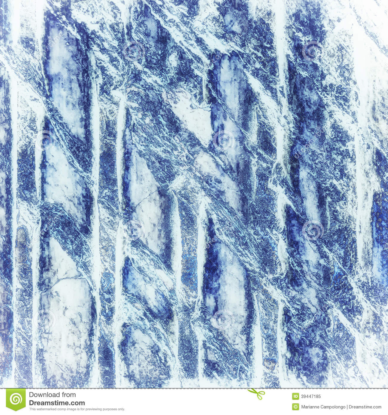Blue And White Marble : Blue marble abstract background texture stock image
