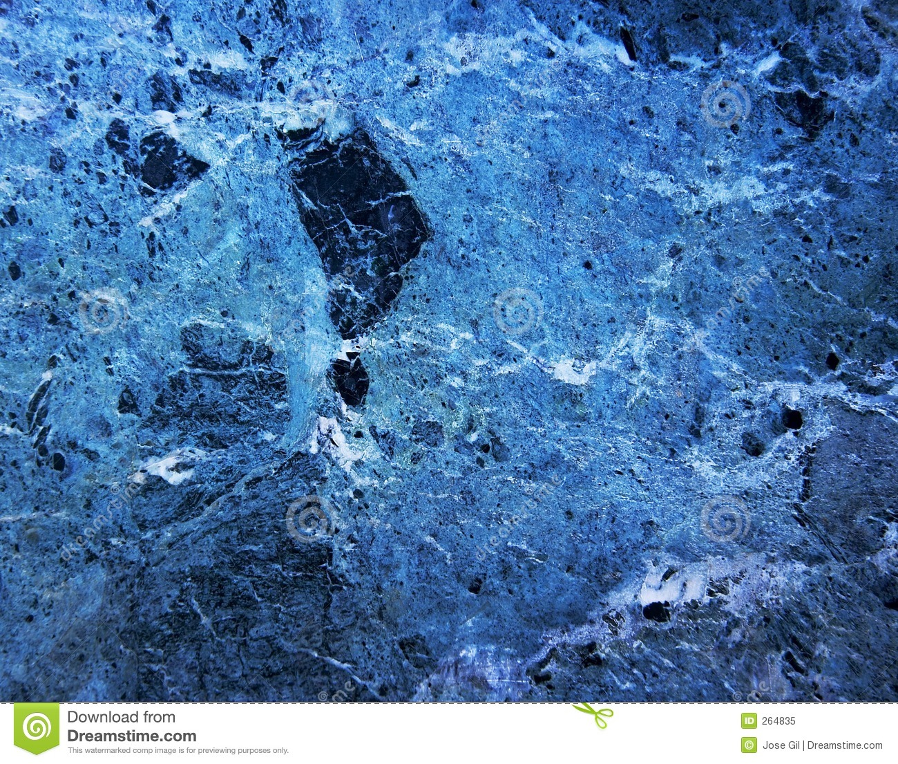 Blue Marble Rock Royalty Free Stock Photo Image 264835