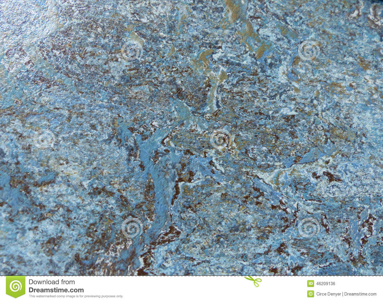 Blue marble texture pattern