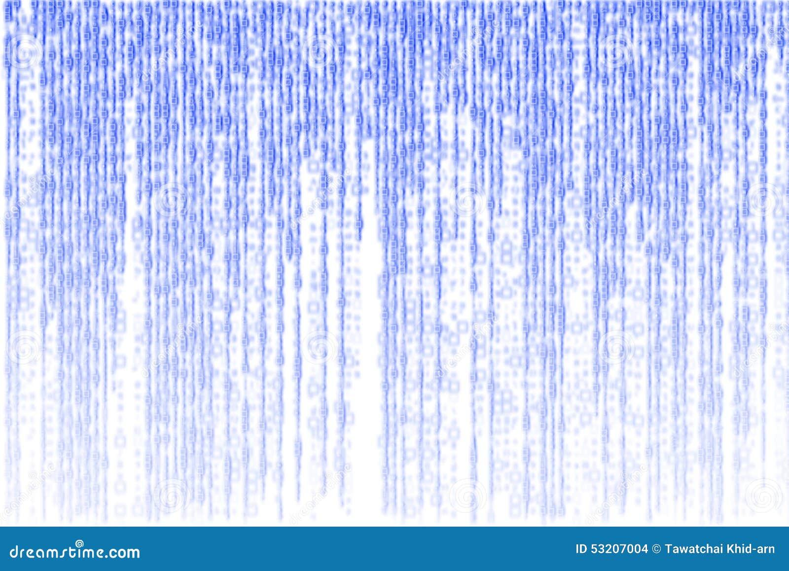 White Digital Background Designs Blue Matrix Digital Ge...