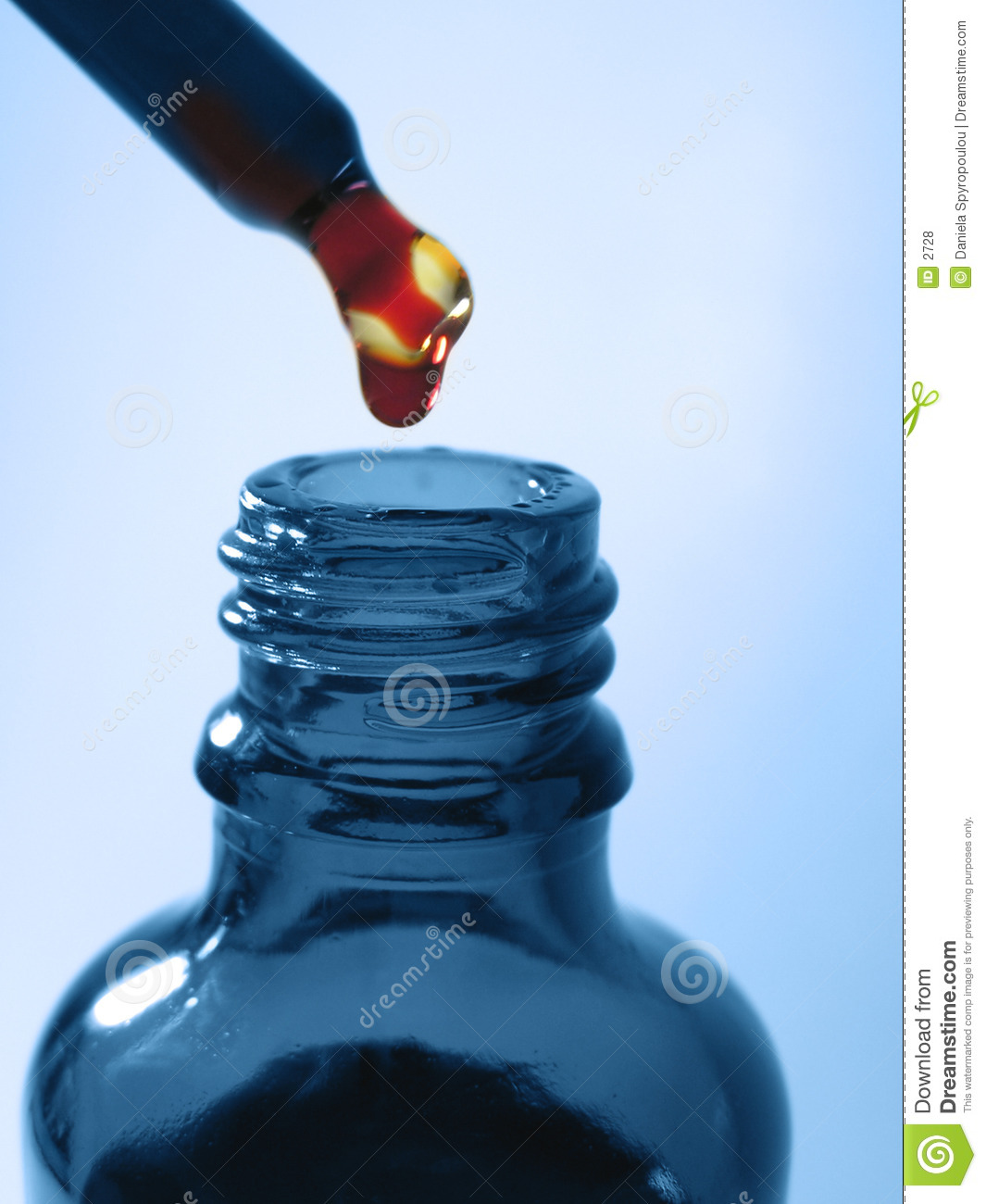 Download Blue medicine bottle stock photo. Image of concepts, capsule - 2728