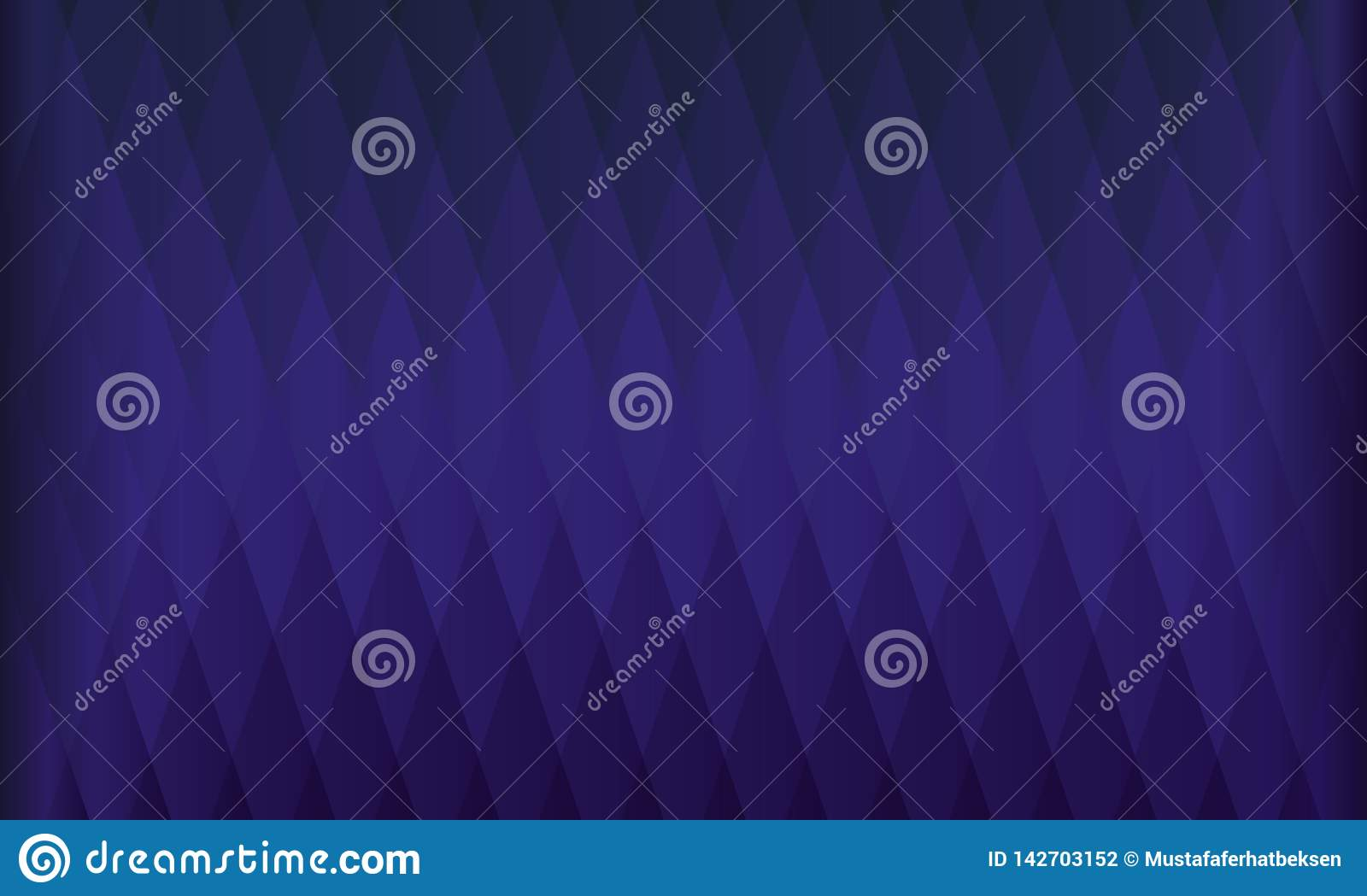 Blue Modern Abstract Background Cool Design Stock Vector