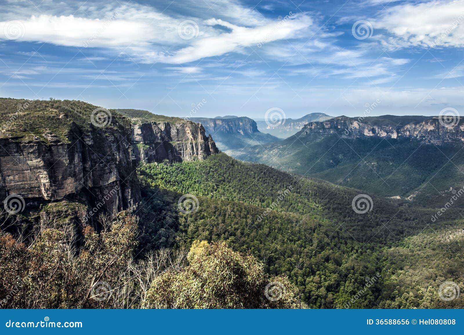 Download Blue Mountains, Australia stock photo. Image of scenery - 36588656