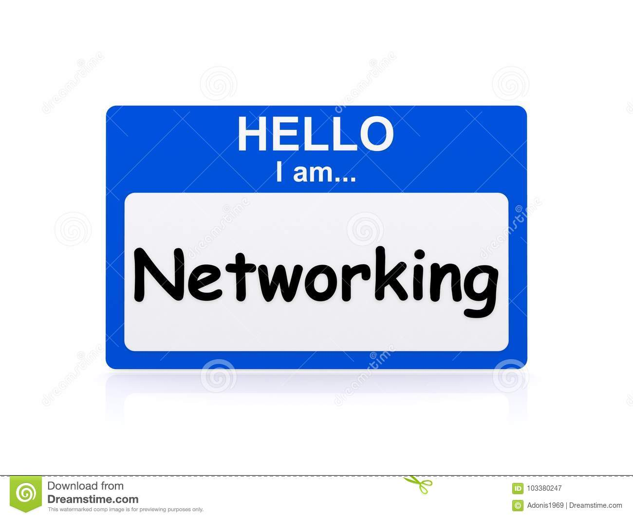 Hello I am Networking