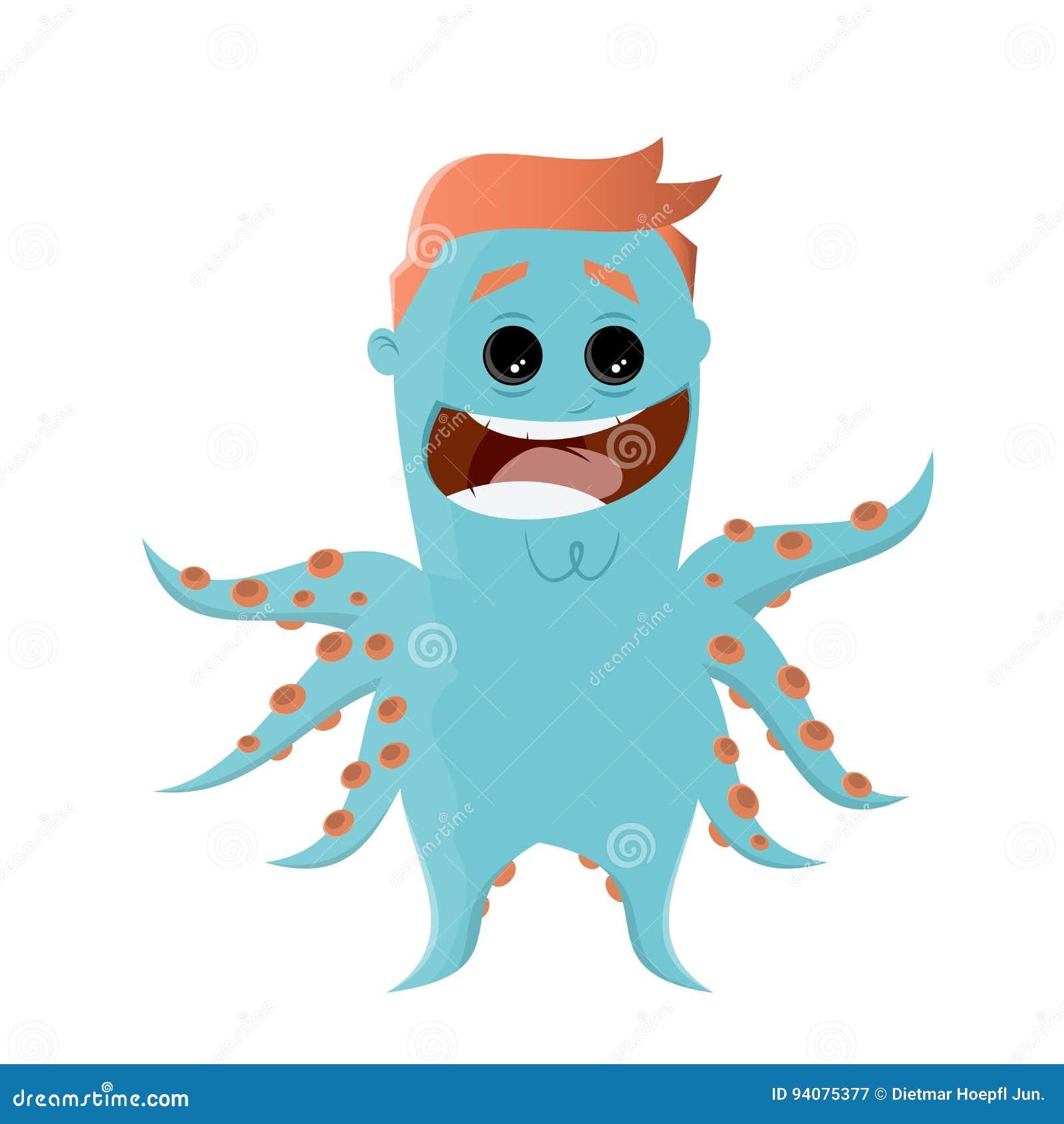 Blue Octopus Vector Clipart image - Free stock photo - Public Domain photo  - CC0 Images