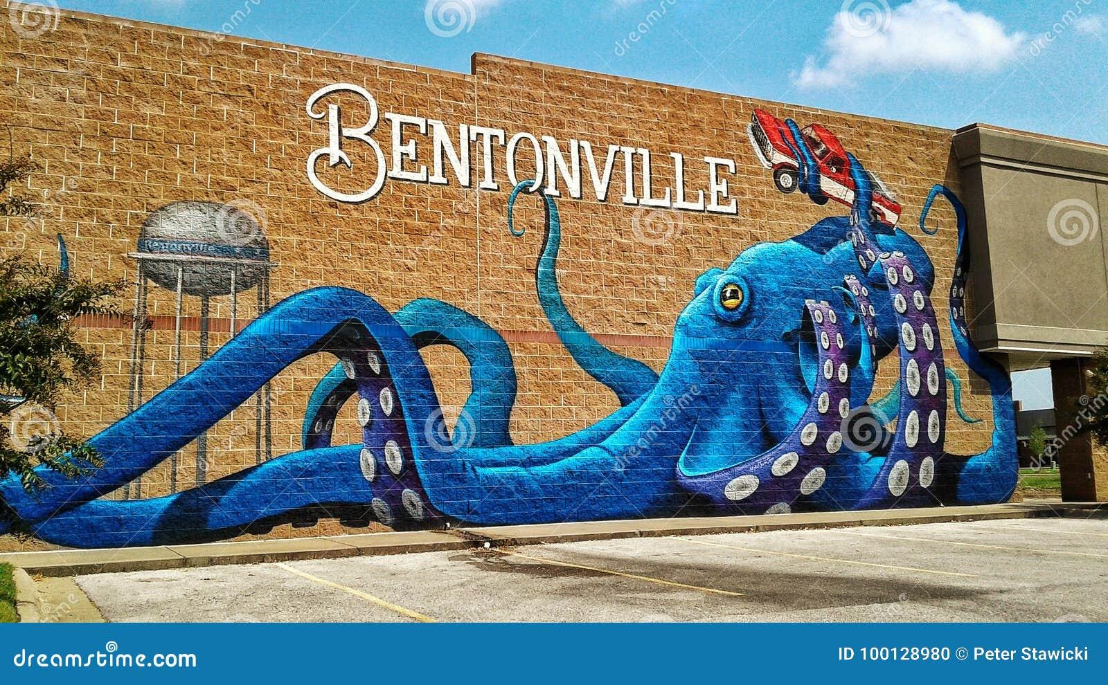 Bentonville Arkansas mural