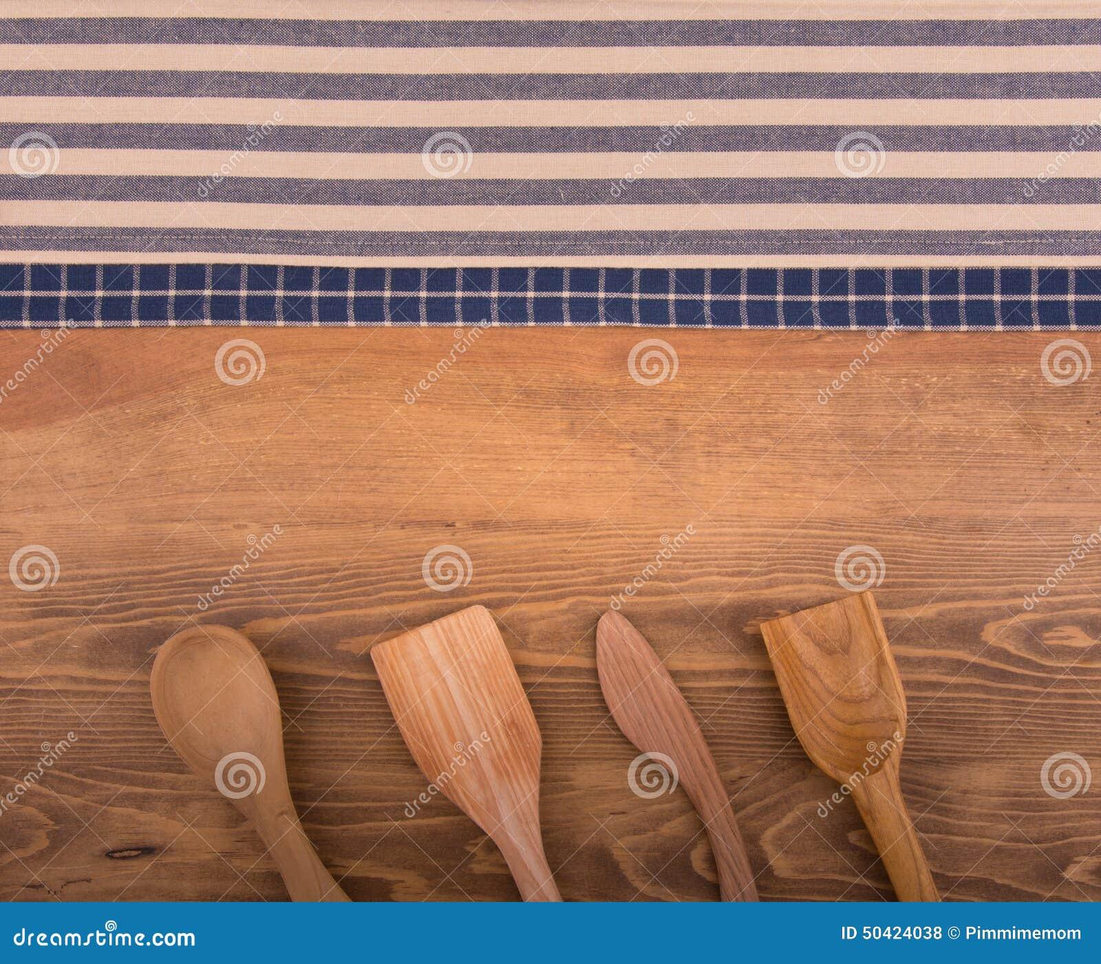 Blue and white kitchen towels - Background Blue Center Dark Kitchen Off Room Text Towels Utensils White