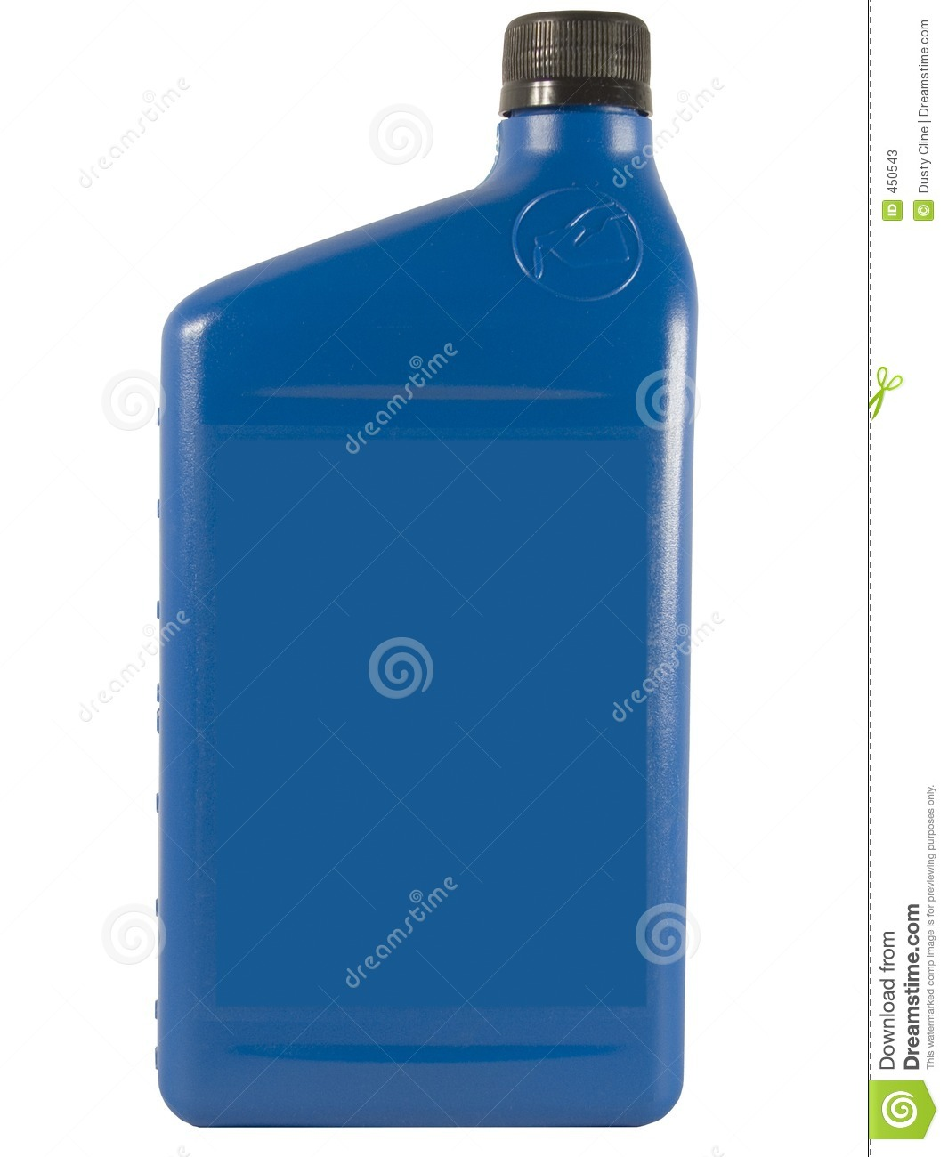 Download Blue Oil Bottle stock image. Image of blue, isolated, automotive - 450543