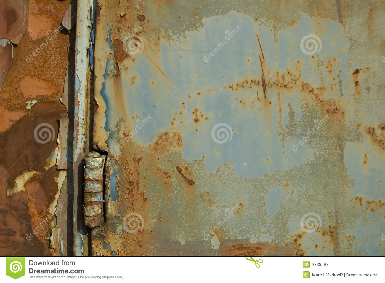 Blue Old-fashioned Background Royalty Free Stock