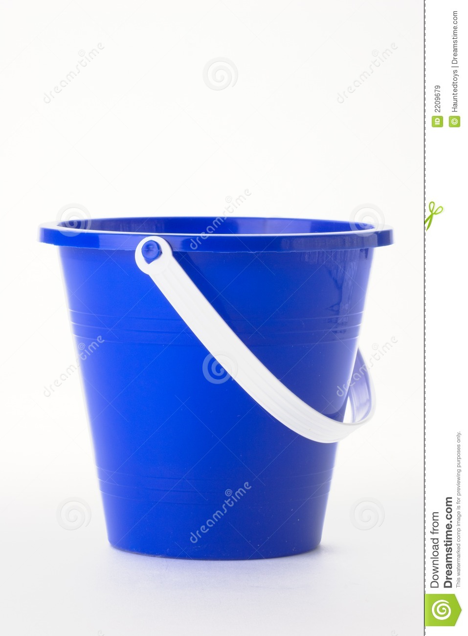Blue Pail Royalty Free Stock Images - Image: 2209679