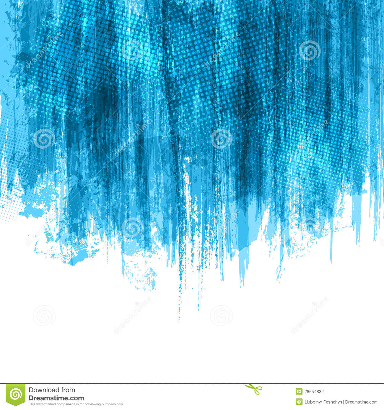 Blue Paint blue paint splashes background stock photography - image: 28654832
