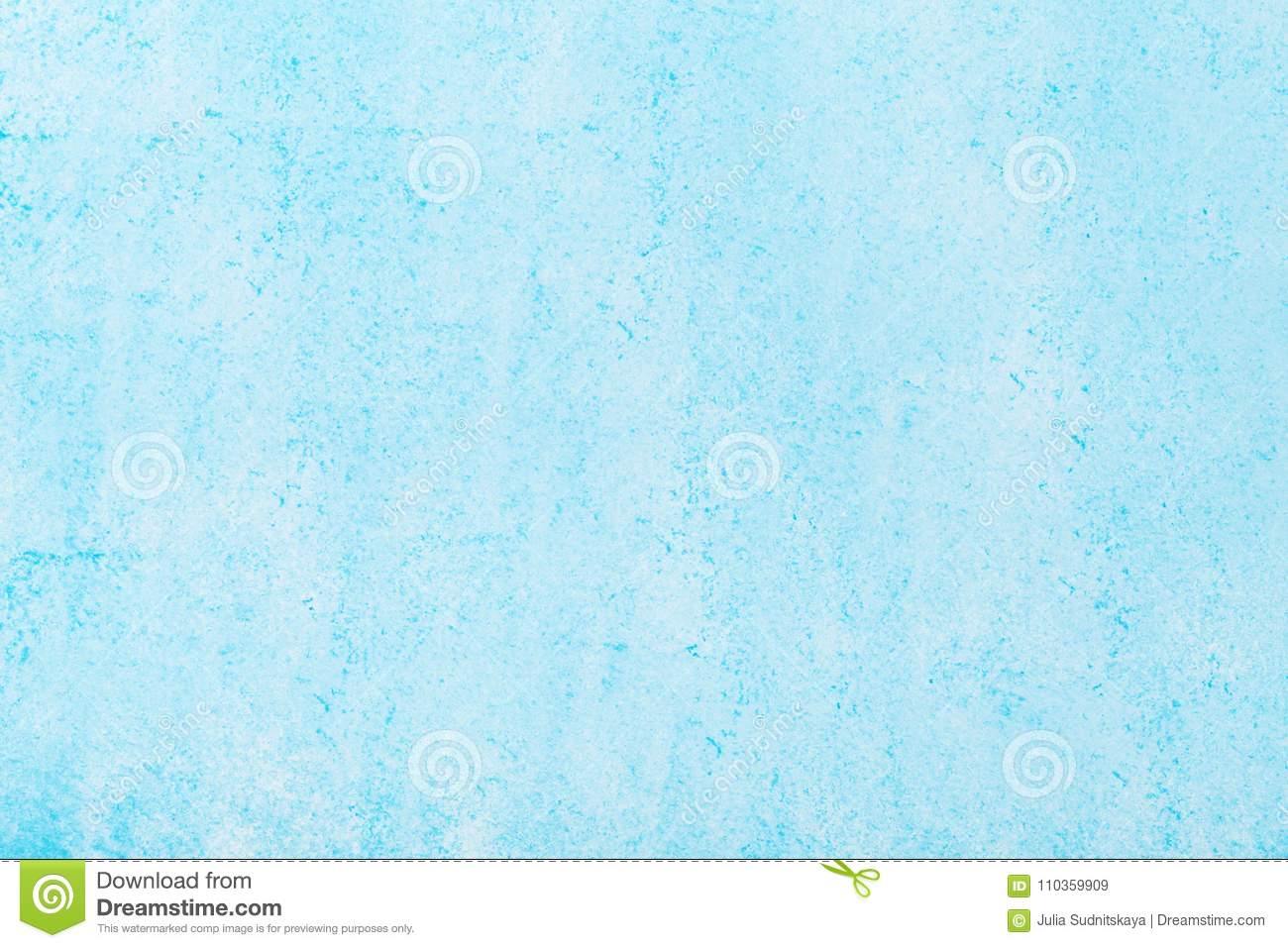 Blue painted pastel background.