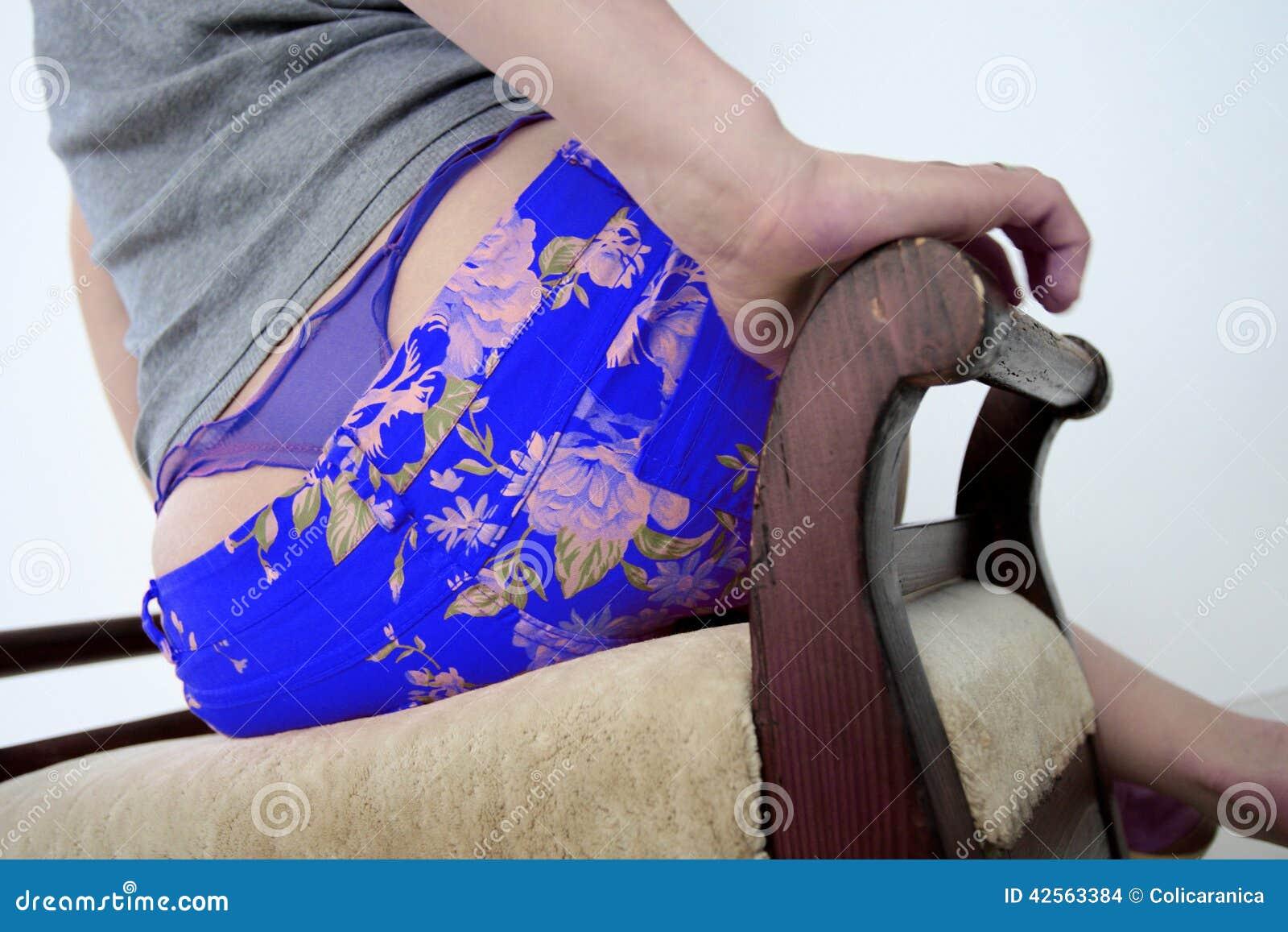 Blue Panties Stock Photo Image Of Woman, Girl, Cloth - 42563384-4176