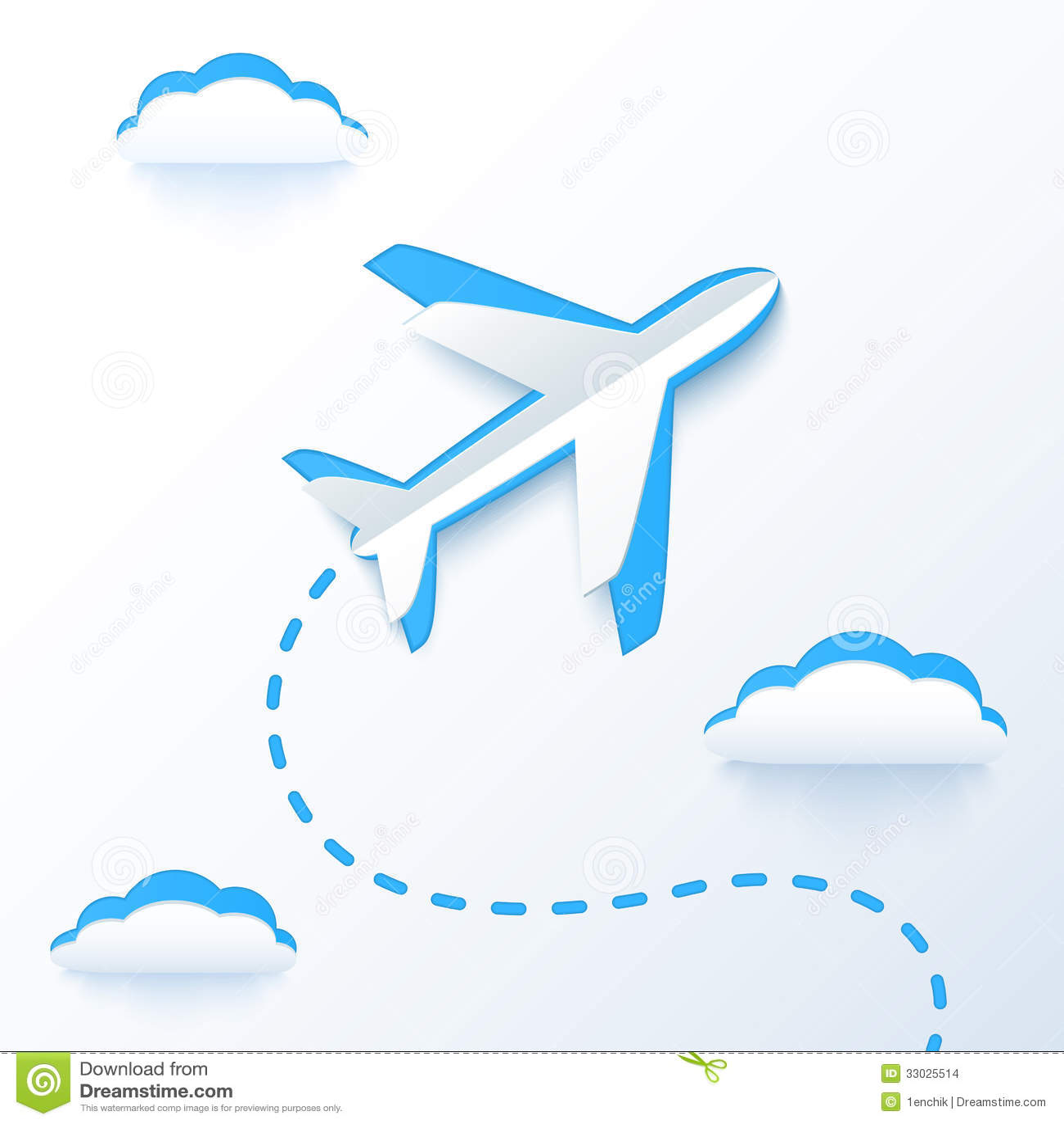 paper plane stock illustration - photo #48