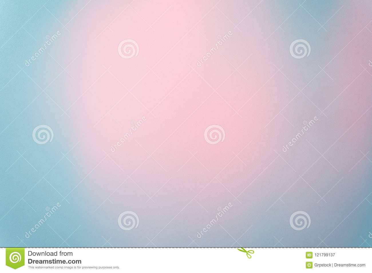 Blue Pastel Background Paper Texture Pattern Soft Focus Photo With Pink Pastel In The Middle, Abstract Art Background