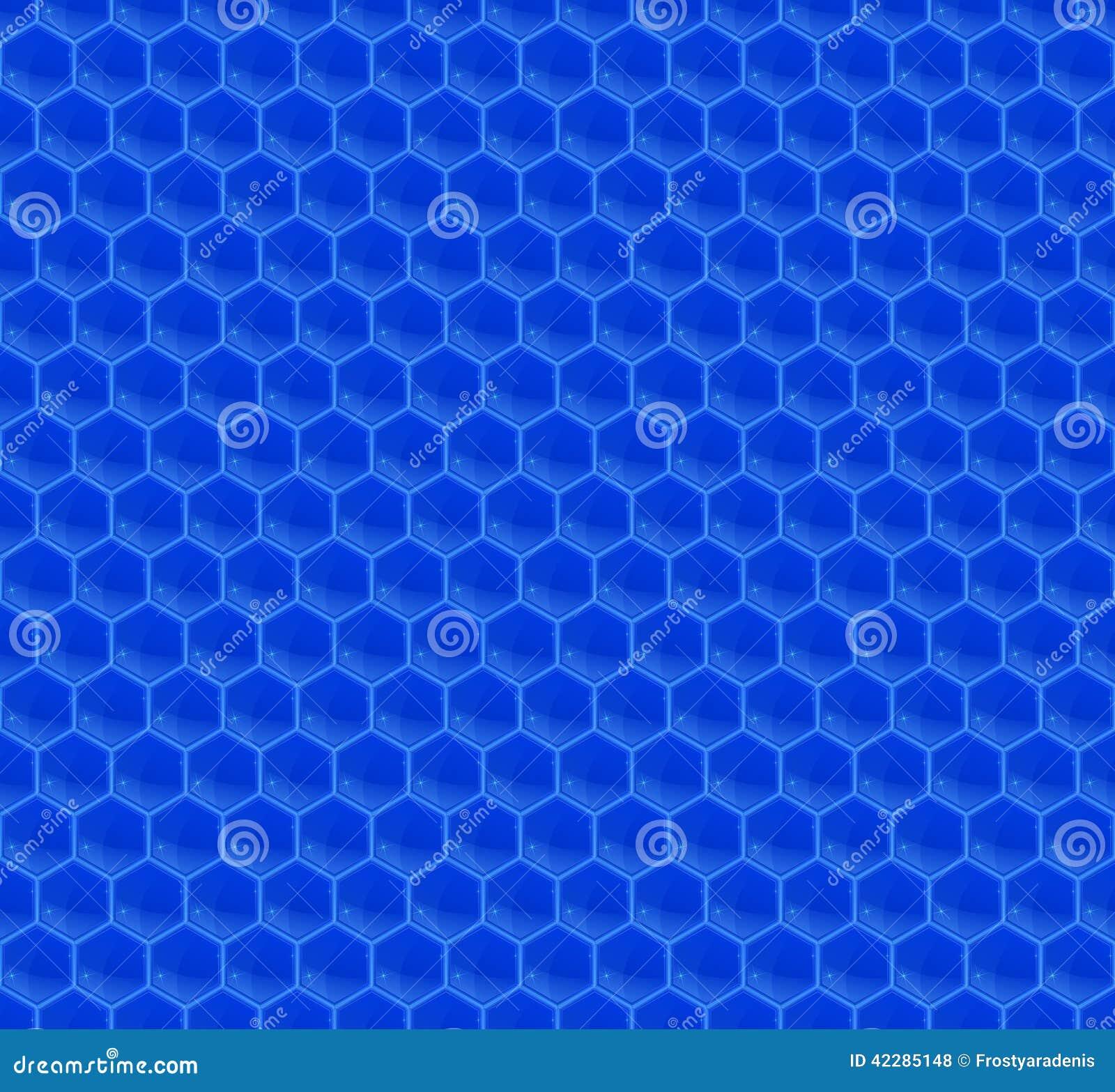 blue hexagonal pattern vector - photo #24