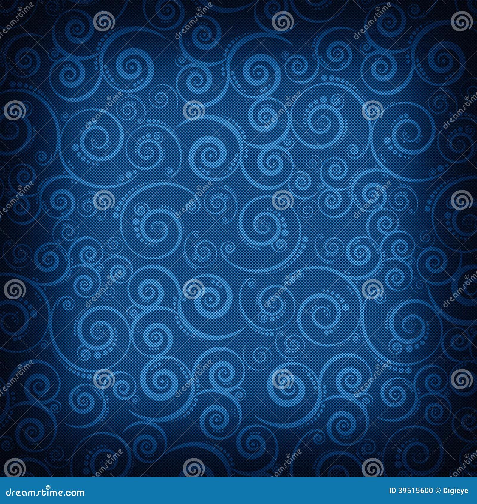 Blue patterned background