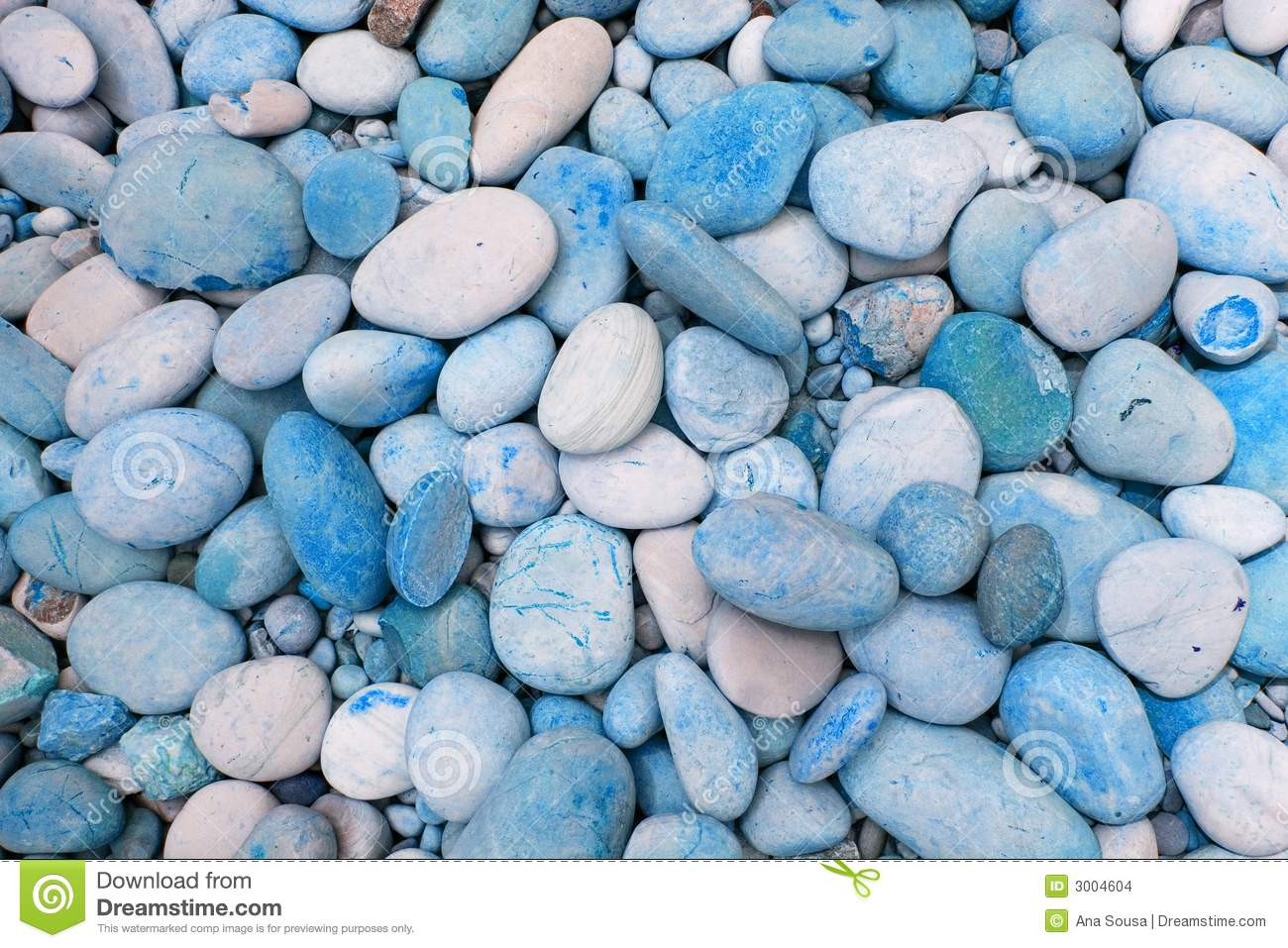 Outdoor Blue Pebbles : Blue pebbles stock images image