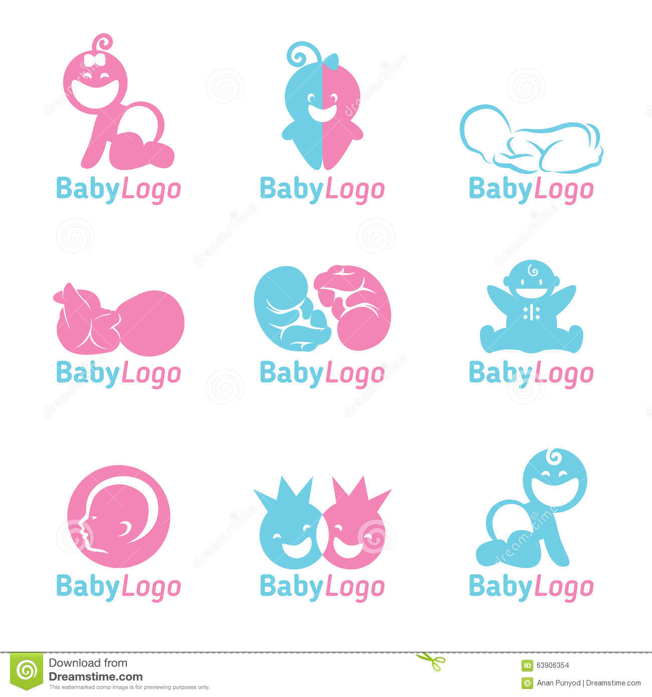 Cute smiling newborn baby boy pictures