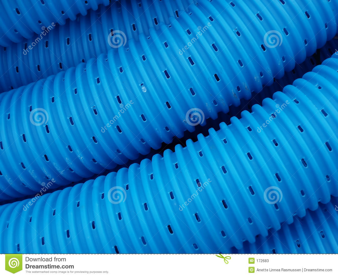 Blue pipe lines