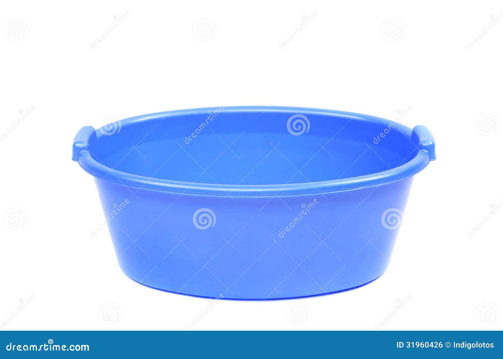 Laundry Bowl : Blue Plastic Wash Bowl Royalty-Free Stock Image CartoonDealer.com ...