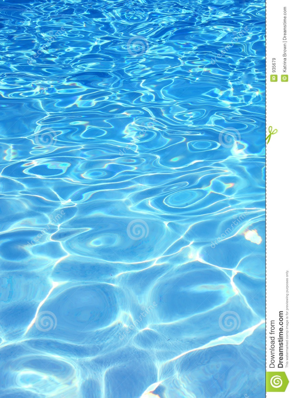 Blue pool water background stock image image of pattern for Blue water parts piscine