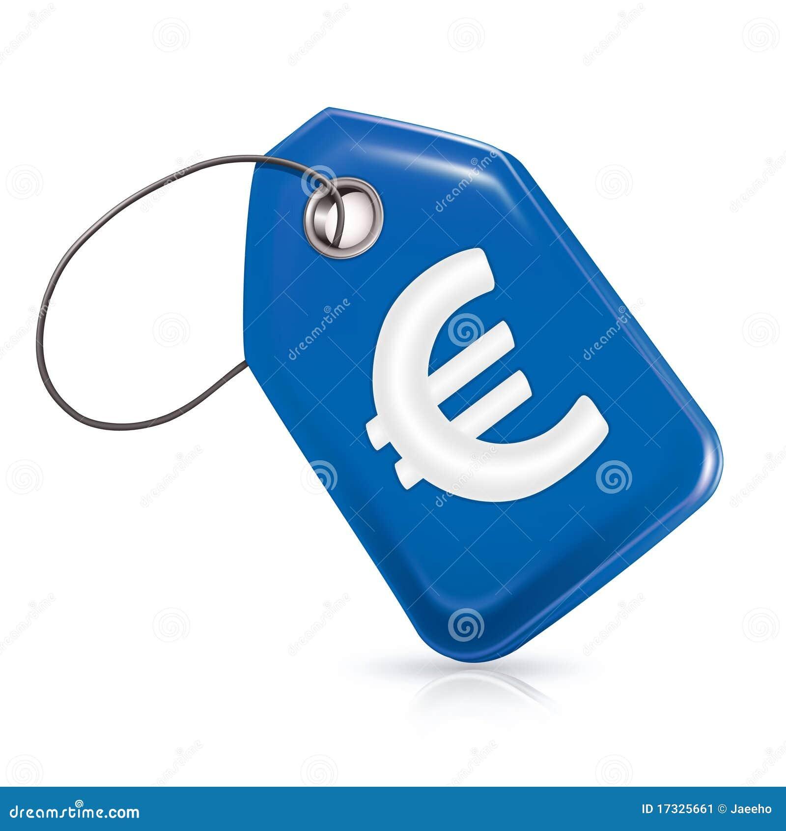 Blue Price Tag Stock Image - Image: 17325661